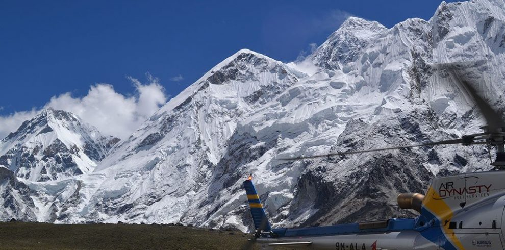 Everest base camp (ECB) Heli trek